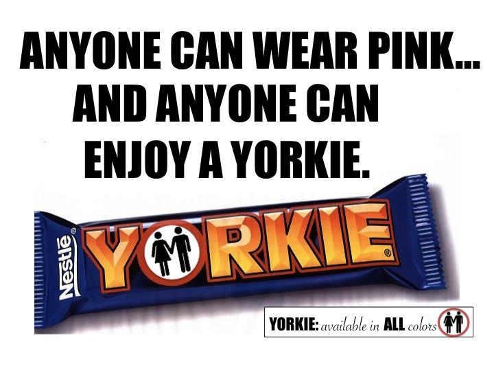 Yorkie Chocolate Bar Calories