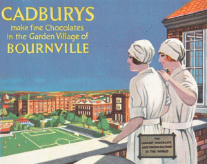 Cadbury prides itself on their Quaker origins. But as we learned in class, their is often a relegated darker history to the procurement of cacao.