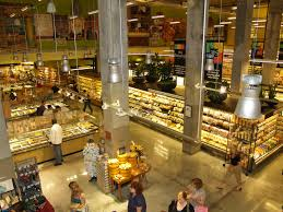 Inside a Whole Foods.