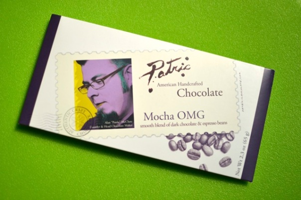 Patric Chocolate's ornate and relatively sophisticated packaging
