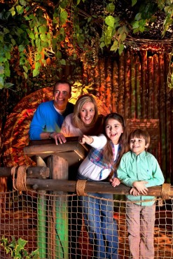 A family experiencing Aztec Weekend at Cadbury World. Taken from Edge Magazine.