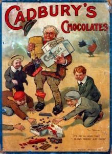 Figure 5. Example of an early Cadbury Chocolate Advertisement