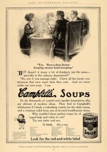 Campbell's Soup Advertisement from 1912