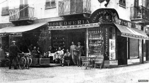 Pietro Ferrero's first chocoalte store in Piedmont (Nutella USA)