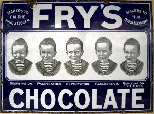 Fry's Chocolate Ad
