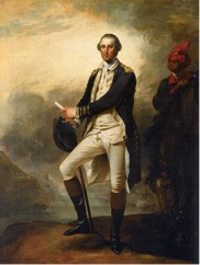 George Washington by John Trumbull. George Washington was a well-known figurehead during his time and his portraits were well publicized. It is believed that as a result, his personal servant Billie was one of the most well known slaves.