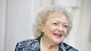 In 2013, Betty White broke the Guinness World Record for the longest television career of any female in history. Image courtesy of CNN.