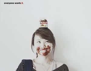Nutella advertisement
