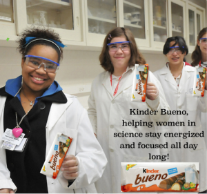 Bueno for Women in Science (Fake Bueno Ad)