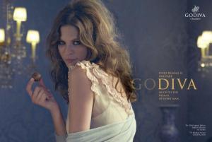 "Godiva's ""One Part Diva"" advertisement"