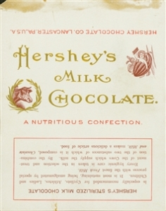Hershey Bar Wrapper 1900-1903