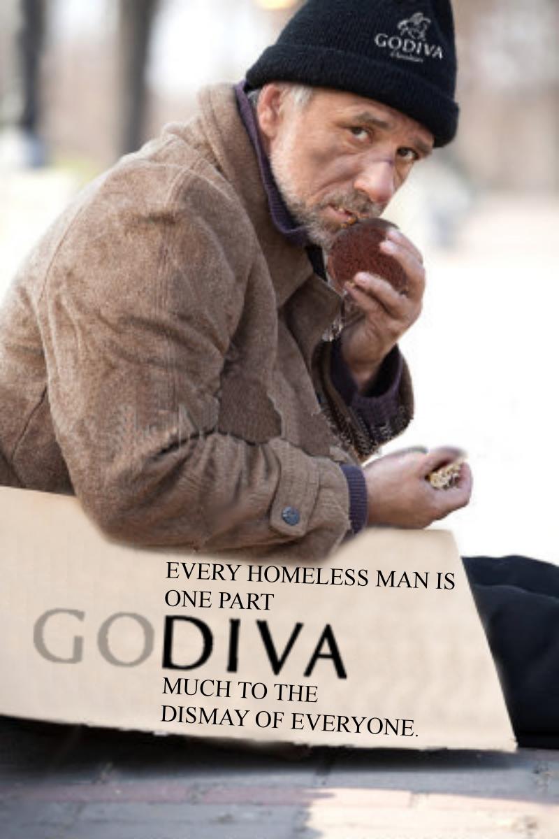 descriptive essay about a homeless man