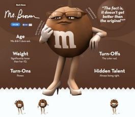 Ms. Brown, M&M