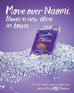Cadbury's ad, which calls stereotypes to mind.