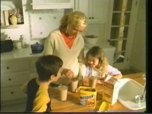 Still shot from a NESQUIK commercial