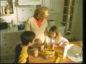 Still shot from a NESQUIK commercial