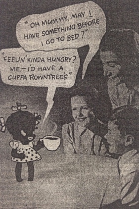 Rowntree's advertisement, 1947