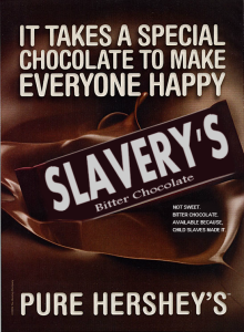 If chocolate ad's were more honest in their advertising.