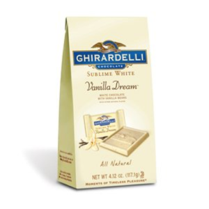White Ghirardelli Chocolate