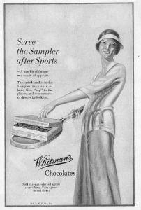 1927 Whitman's advertisement