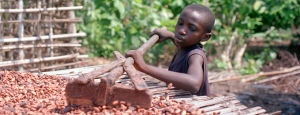 Child and slave labour is currently a huge issue in chocolate