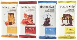 Chuao Chocolatier's variety of chocolate bars