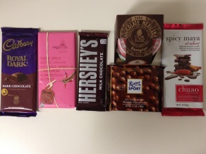 Chocolates for the tasting