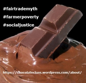 An example of a tool designed for circulation on popular social media sites, in an attempt to bring attention to the issues facing Chocolate