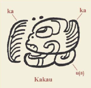 Maya glyph for cacao