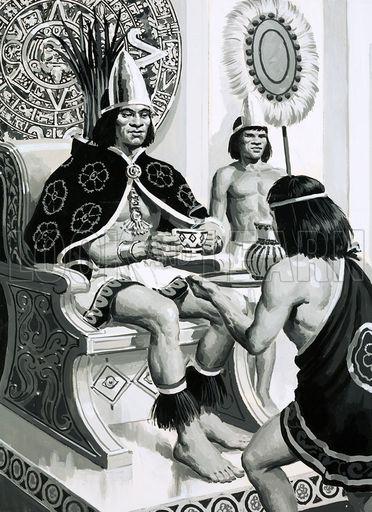 Emperor Montezuma of the Aztecs liked drinking cocoa