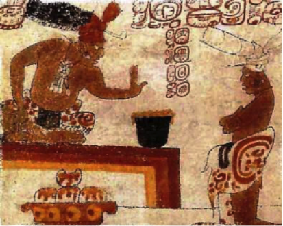 chocolate maya ruler