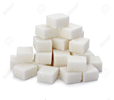 9479553-close-up-of-sugar-cubes-on-white-background-with-clipping-path-stock-photo