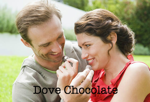 Chocolate Dove Ad