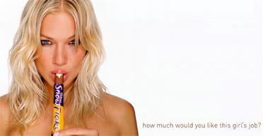 Sexualizing women in advertising