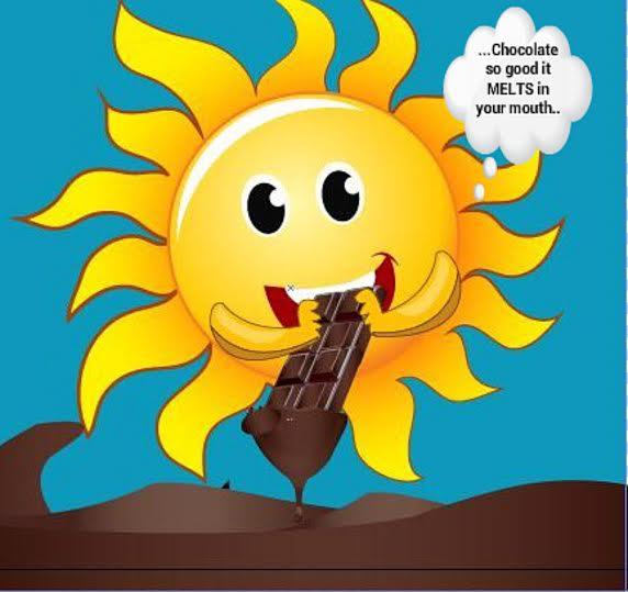 Sunny chocolate