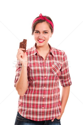 1466921_stock-photo-sexy-housewife-in-kerchief-with-chocolate-bar