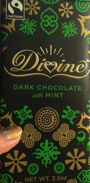 Divine Dark Chocolate with Mint