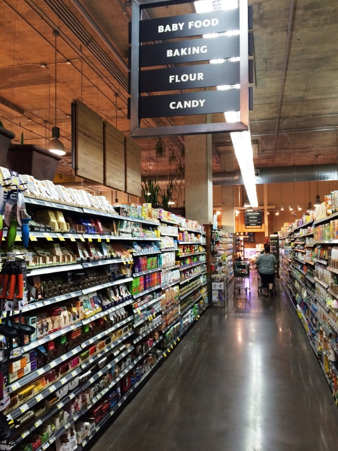 Whole Foods aisle