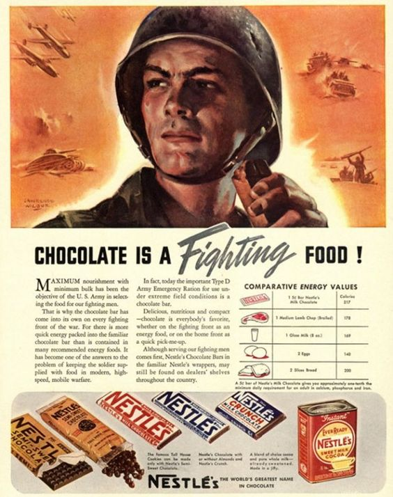 chocolate propaganda