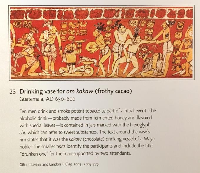 Mayan Interpretive dignage MFA