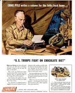 Nestle's 1943 Ad
