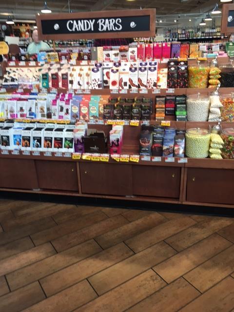 Fresh Market candy bar