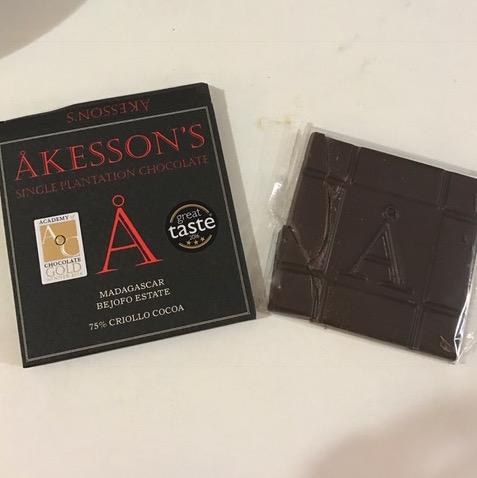 Akesson's criollo chocolate