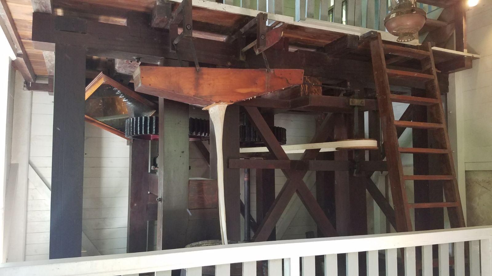 Hacienda water run equipment