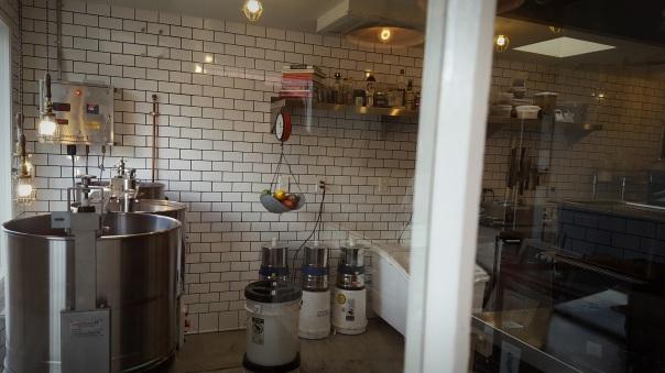 View of Chocolate Kitchen