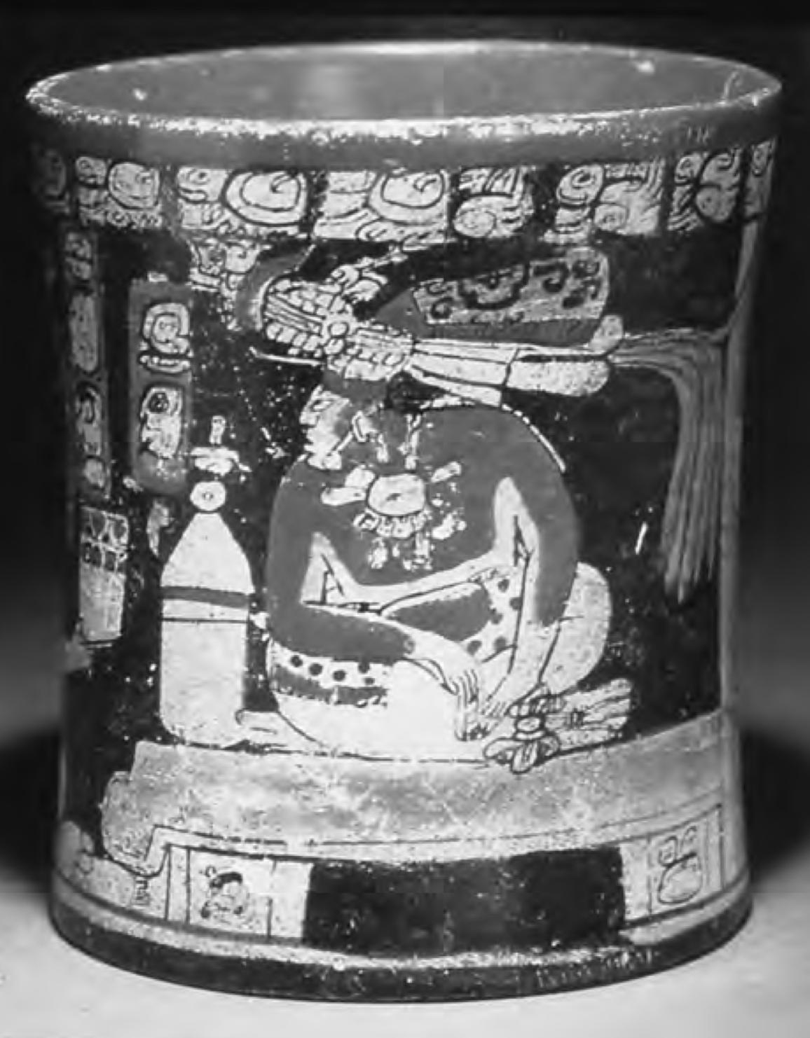A Late Classic Maya Vase