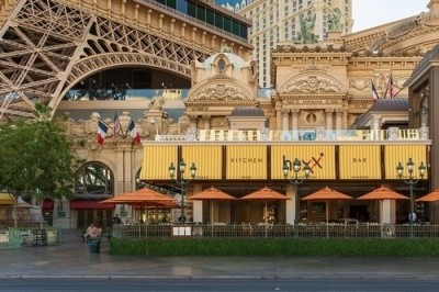 "HEXX Chocolate - Located in the heart of the Las Vegas Strip (""HEXX Exterior"")."
