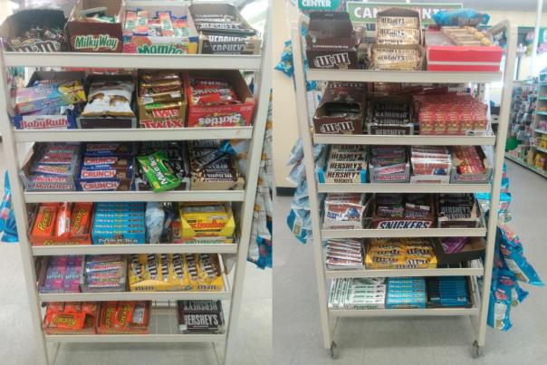 Chocolate Supply at the Dollar Tree