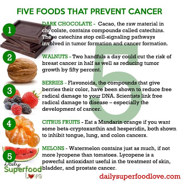 five foods