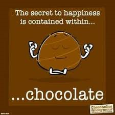 happy chocolate